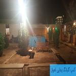 نمایی از استخر کمپ گلبانگ رهایی در شهر اهواز